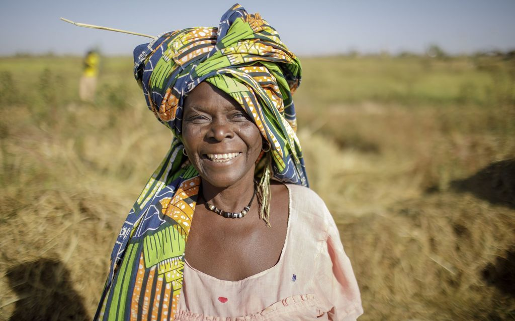 Africa's face of agriculture is female
